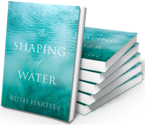 """The Shaping of Water"" by Ruth Hartley - a pile of new books"