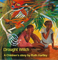 Cover of The Drought Witch by Ruth Hartley
