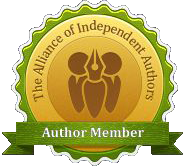 "Author Member badge of ""The Aliance of Independent Authors"""