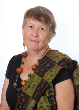Colour photo of Ruth Hartley in 2019